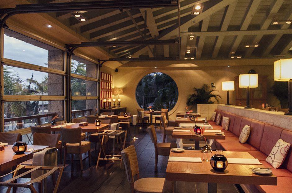 Sala del Restaurante Las Aguas