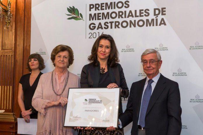 Premio a Paradores por la Real Academia Gastronomía