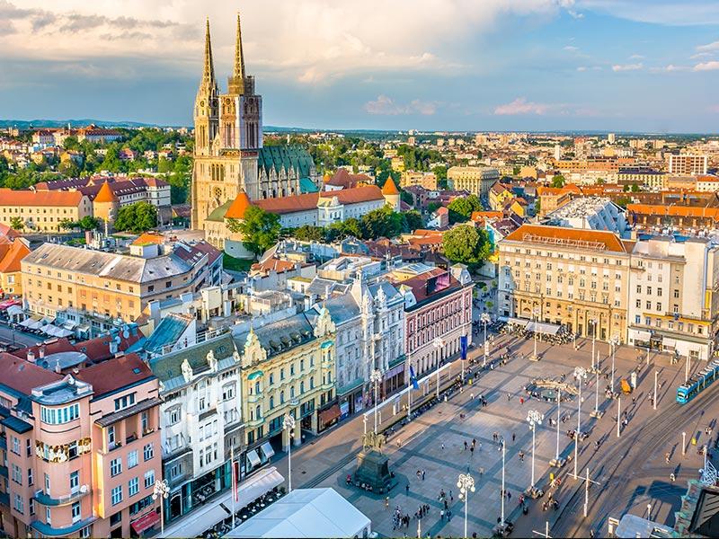 Vista de Zagreb