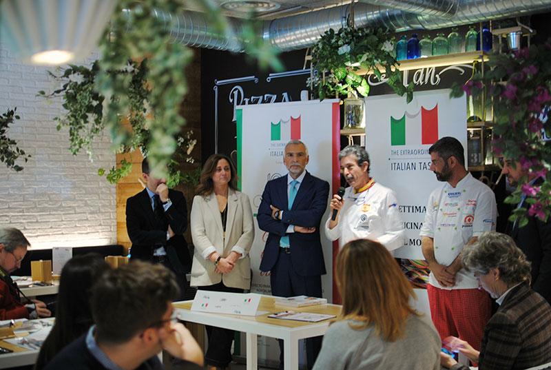 II semana de la gastronomía italiana en el mundo
