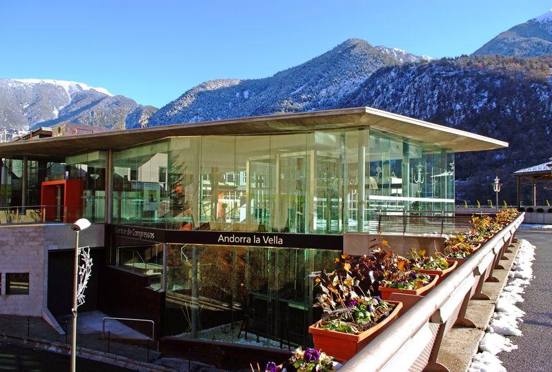 centro de congresos de Andorra