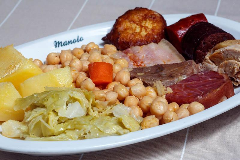 Manolo Restaurante cocido madrileño