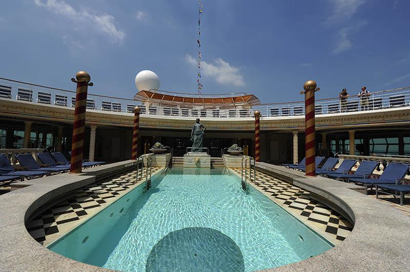 Solarium del buque Mariner of the Seas de Royal Caribbean