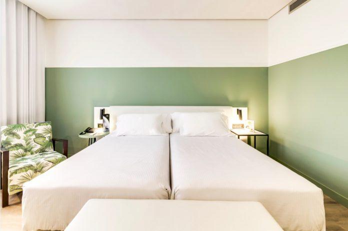 Habitación del hotel Sercotel Acteón Valencia