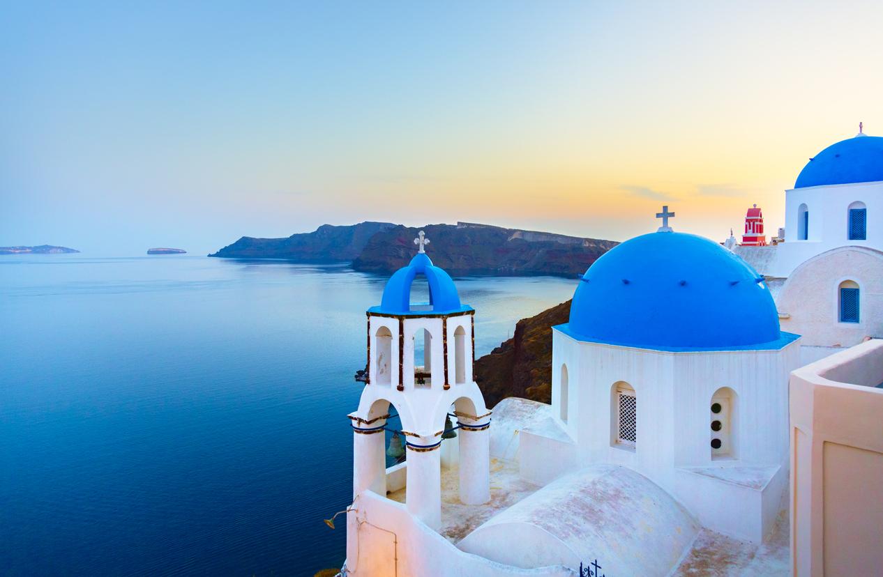 Vista de Santorini