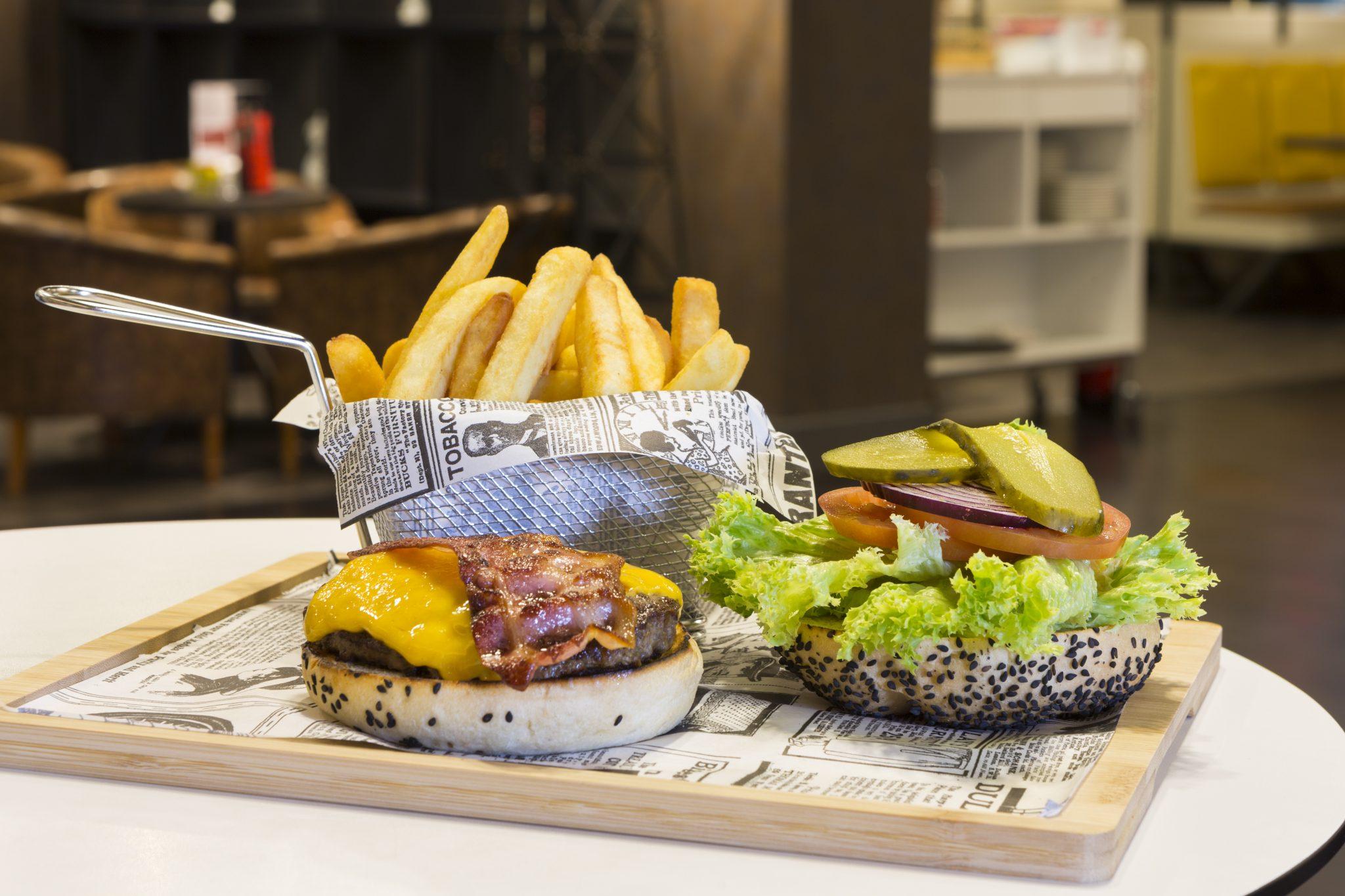 burger, lunes, marriott