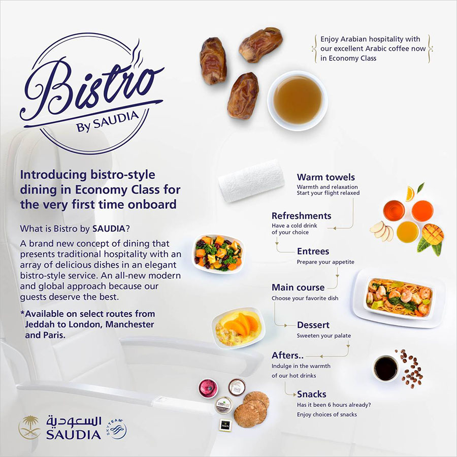 Bistro by Saudia Airlines