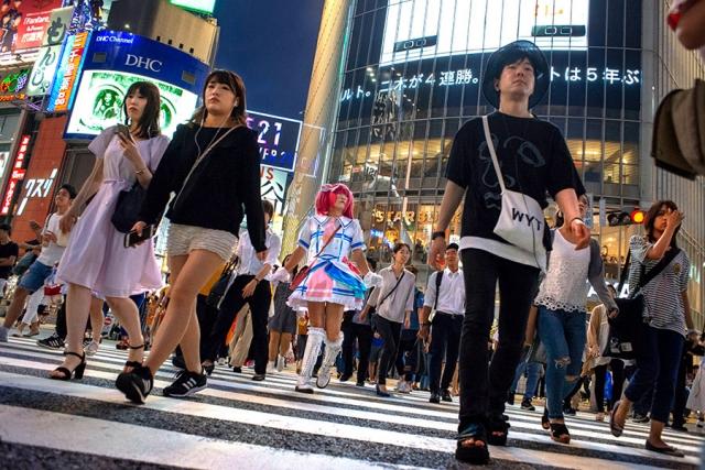 Paso de cebra de Shibuya