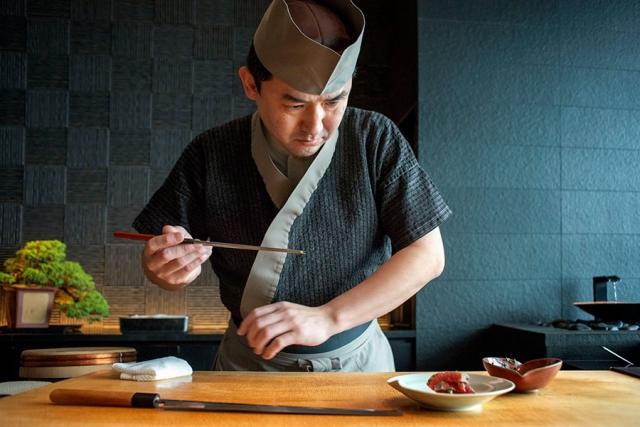 Chef del restaurante del Hotel Mandarin Oriental Tokio