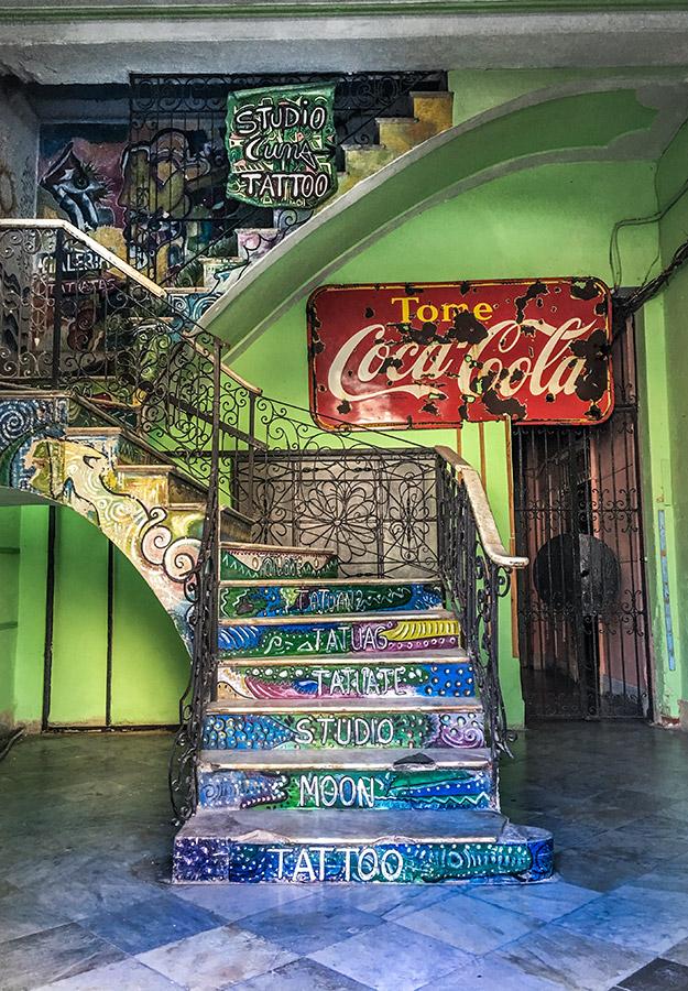 Estudio de Tatoos en La Habana Vieja
