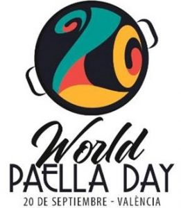 Logo dia mundial de la paella
