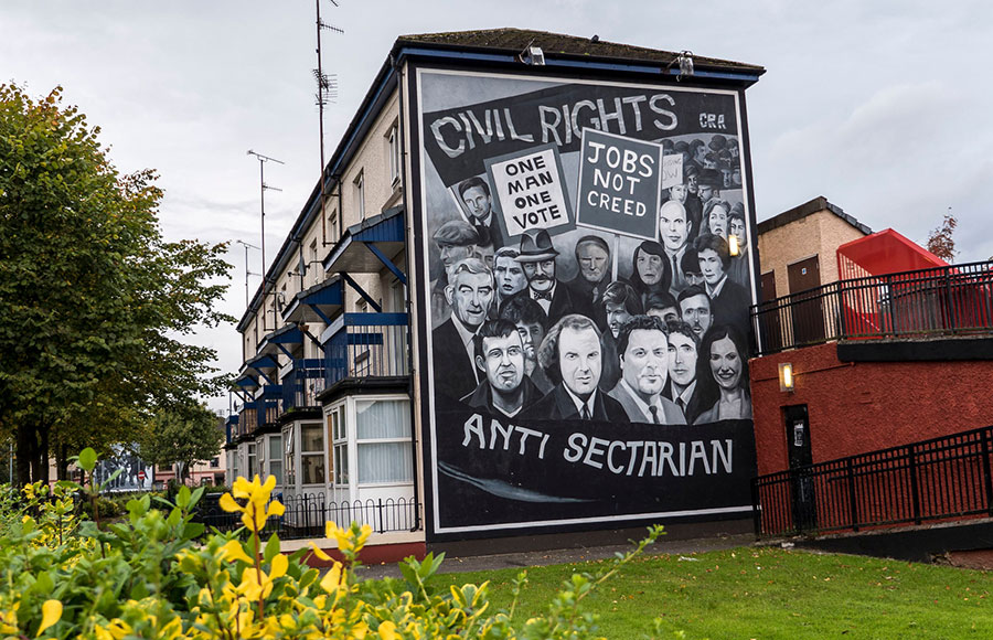 Murales en Derry