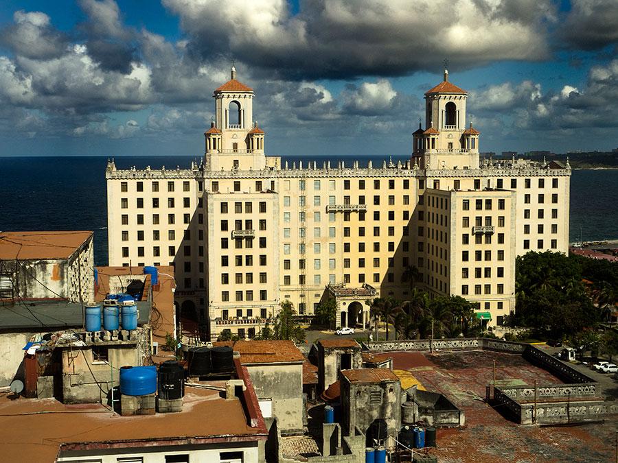 El Hotel Nacional en la Habana
