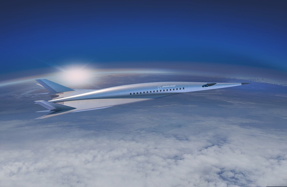 Avión Hipersonico de Boeing