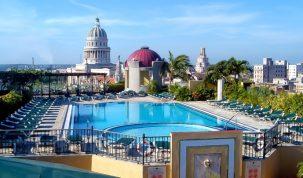hotel parque central de la Habana sede de MITM américas
