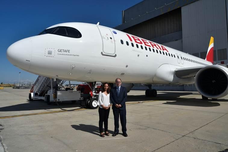 Avión a320 neo de iberia