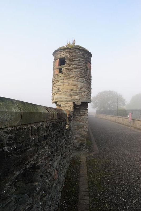 Torres vigia de la muralla