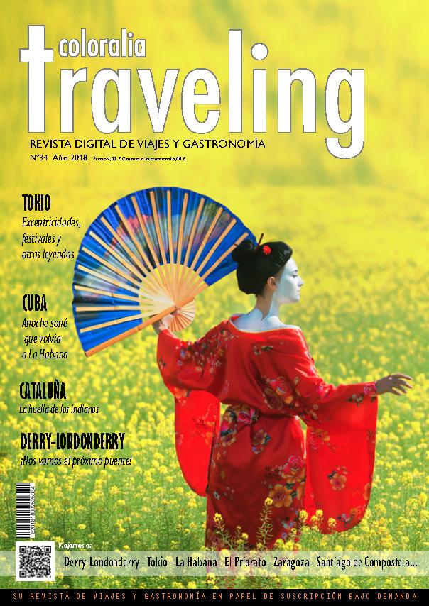 Portada Revista Traveling Nº34