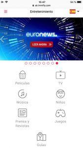 Entretenimiento de IBERIA EXPRESS paso 2 revista traveling
