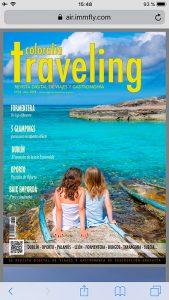 Ya puedes leer la revista traveling a bordo