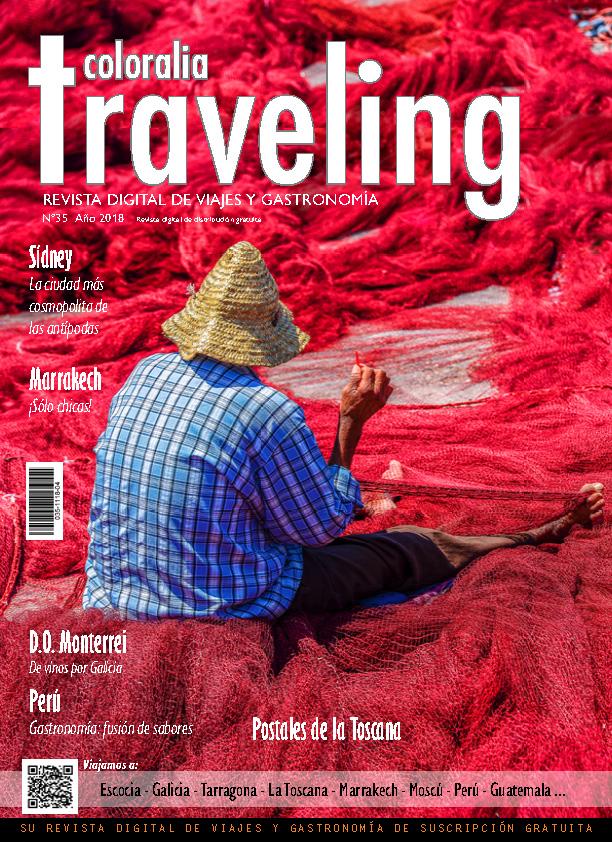 Portada Revista Traveling Nº35