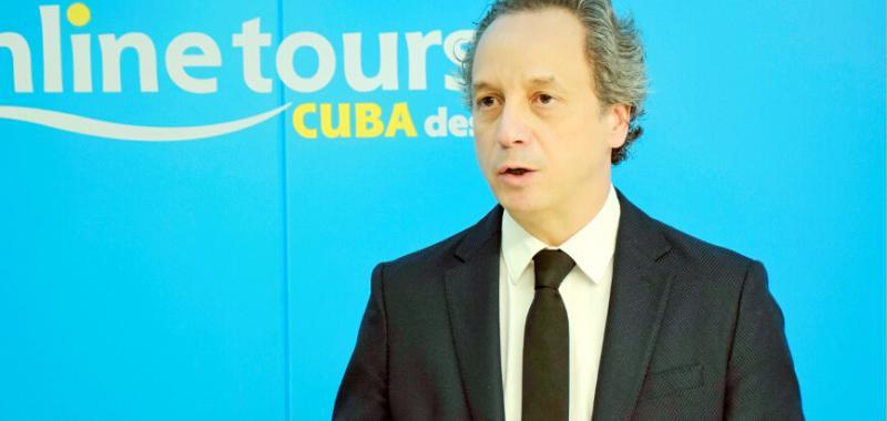 Javier Leal director de Onlinetours_