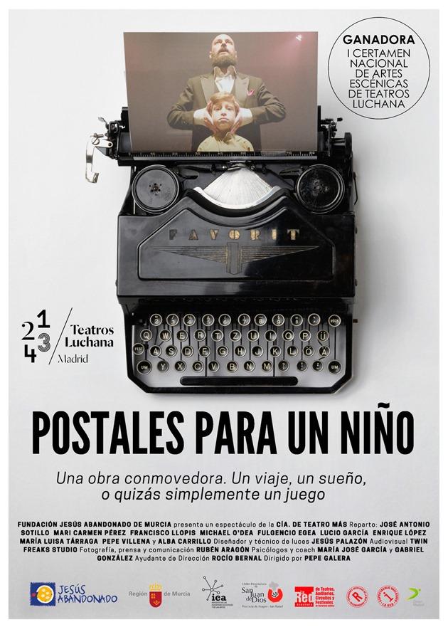 cartel Postales para un niño