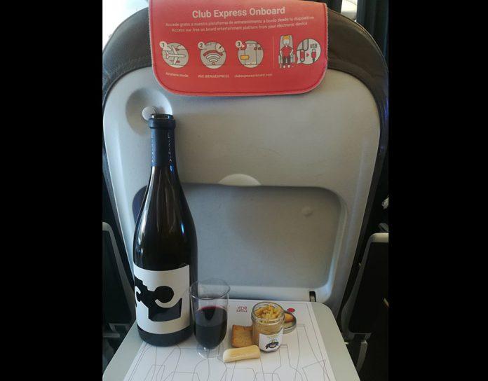 Cata a bordo de Iberia Express con vinos de Madrid
