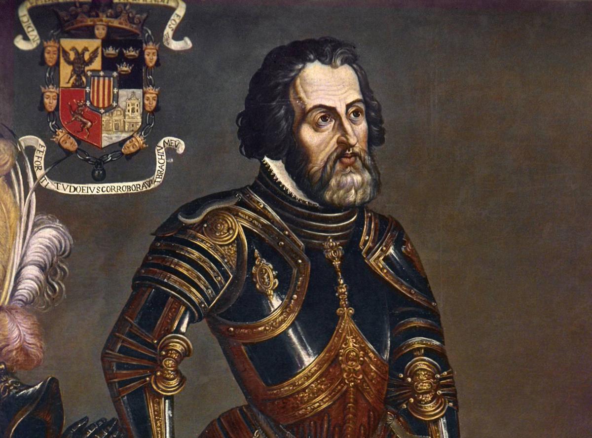 Hernán, Cortés, V Centenario