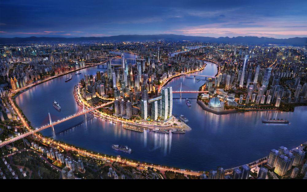Sky line de Chongqing