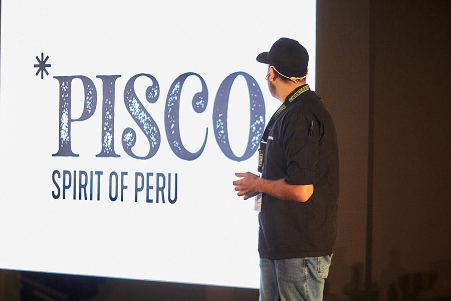 Presentación del Pisco en Madrid Fusión