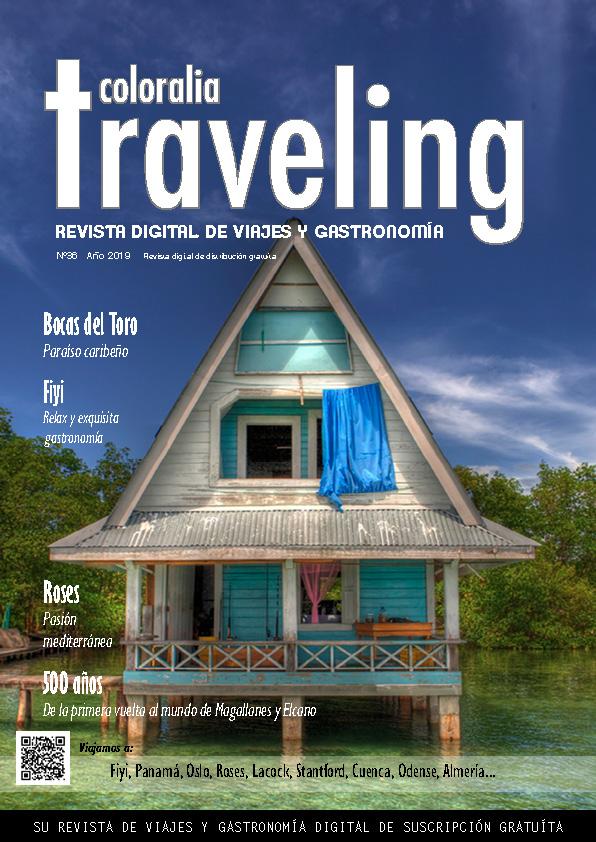 Portada Revista Traveling Nº36