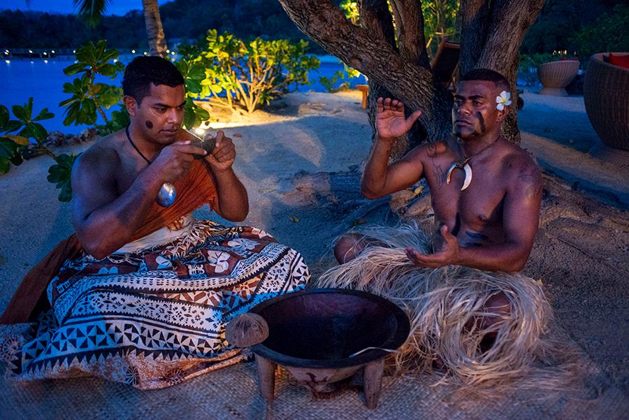Rito ancestral del Kava