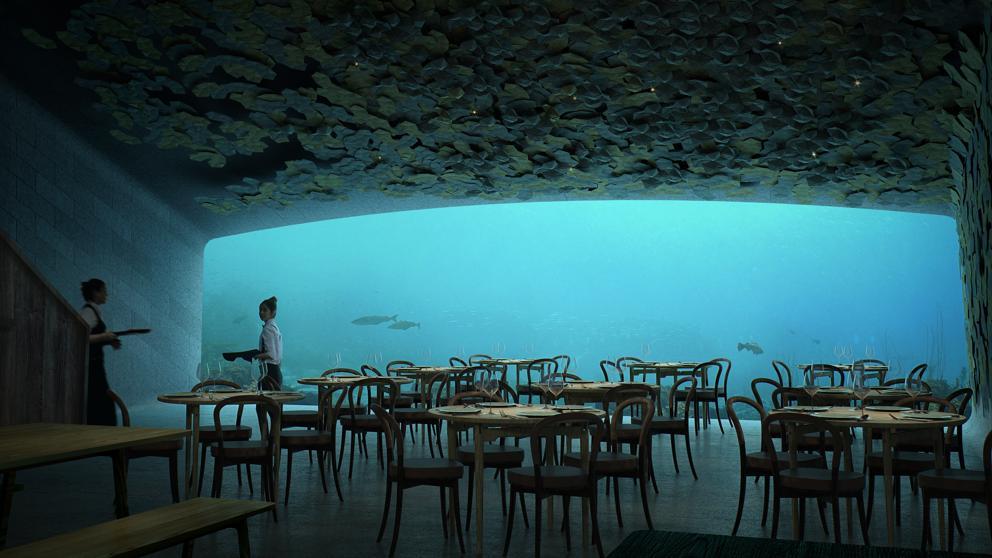 Under REstaurante subacuático