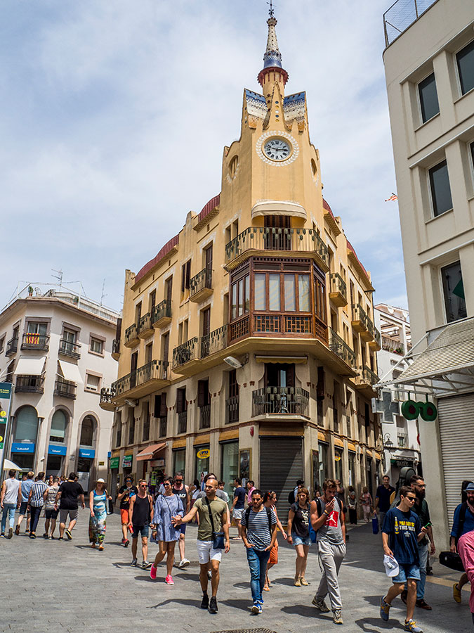 Casa del Reloj en Sitges