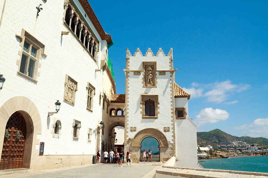 Palau de Maricel en Sitges