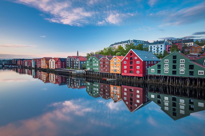 Sunset, Trondheim Credits: morenourl/Foap/Visitnorway.com