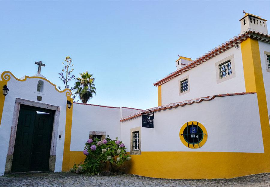 Entrada a la Quinta do Rio Touro