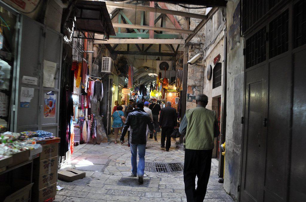 Khan Al-Zeit Jerusalem y sus mercados
