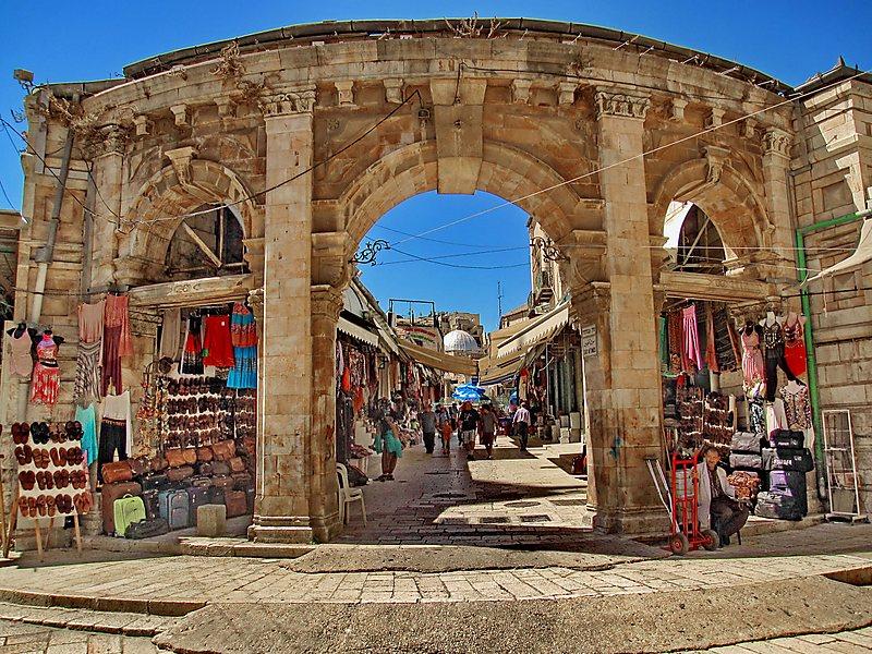 Zoco Muristán Jerusalem y sus mercados