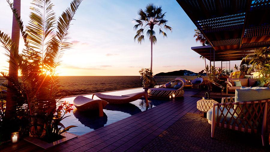 Hotel aguas_de_ibiza Terraza