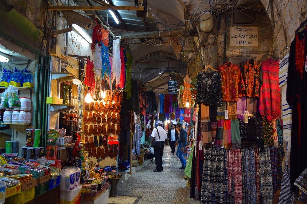 Jerusalem y sus mercados