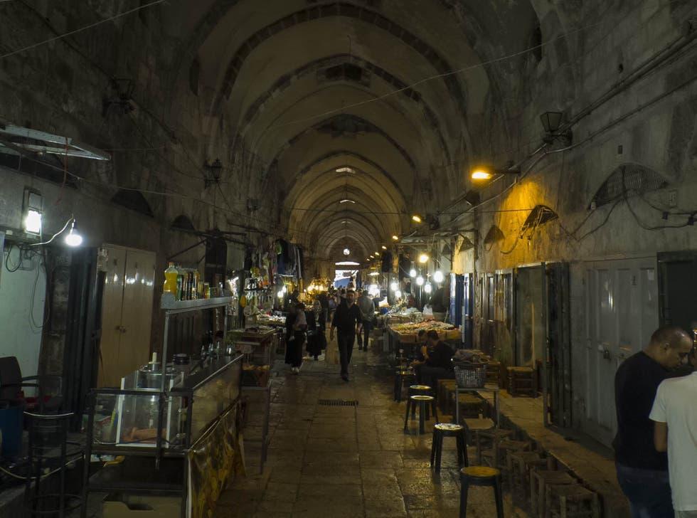 Zoco al Qattanin Jerusalem y sus mercados