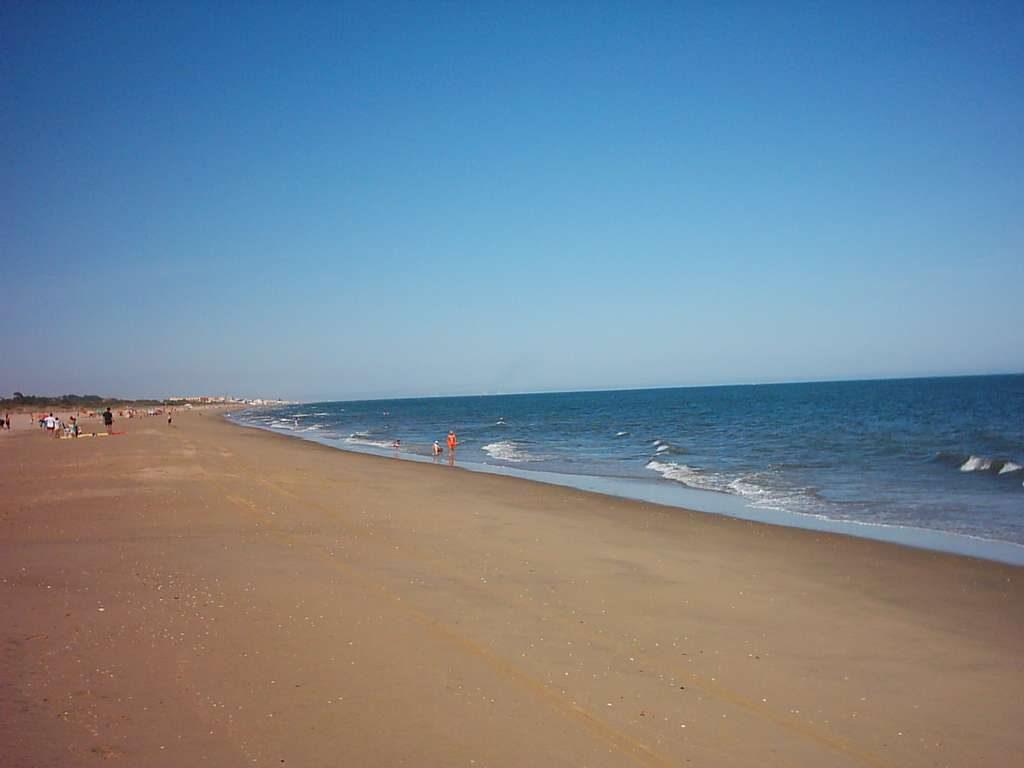 Playa de Isla Cristina en Huelva