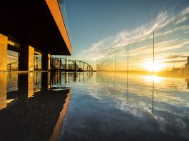 infinity pool Acqua Mex hotel indigo