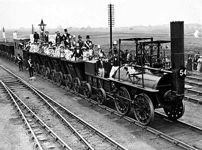 Stockton-Darlington, la primera línea de transporte interurbano, cinco planes en tren para este verano