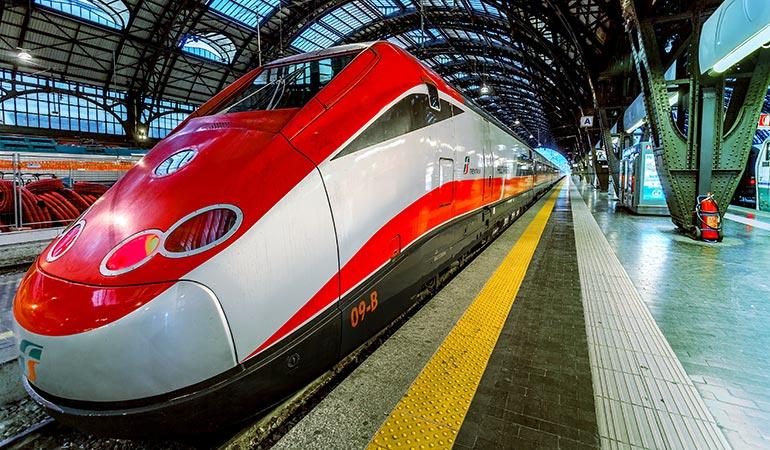 Roma Florencia primera línea de alta velocidad en Europs