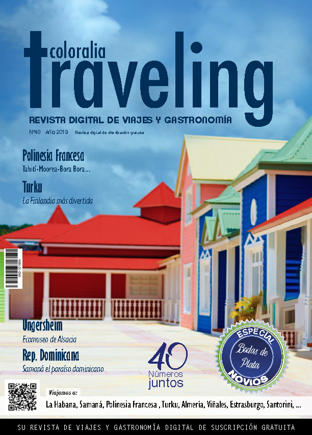 Portada Revista Traveling Nº 40