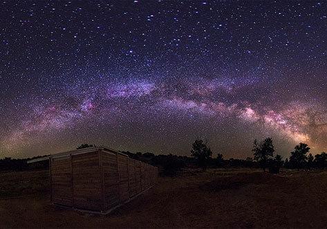 Siberia extremeña observar estrellas