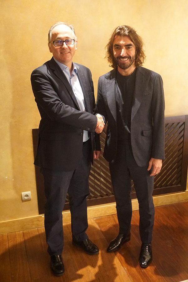 Luis Gallego y Javier Hidalgo Iberia Compra Air Europa